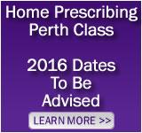 Home Prescribing Class