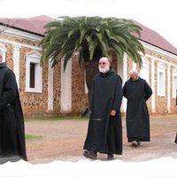In 1846 four Benedictine monks led by Dom Rosendo Salvado and Dom Joseph Serra travelled through the rugged West Australian bush to found the monastery at New Norcia