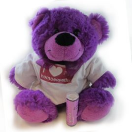 i love homoeopathy jelly teddy and homoeopathic remedy
