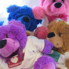i love homoeopathy teddy: gorgeous jelly bears