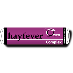 Hay Fever Complex includes Euphrasia, Grasses & Pollens