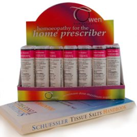12 Schuessler Tissue Salts Kit includes Calc phos